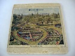 Plaque carrée 'Anciens bassins'