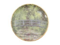 Mini assiette porcelaine - Pont Japonais Monet
