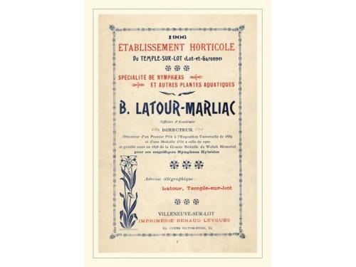 Carte postale 'Catalogue 1906'