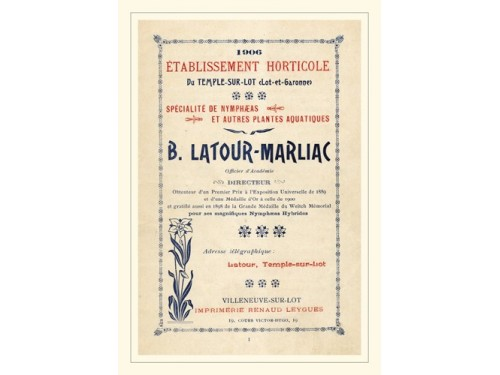 Post Card - 'Catalogue 1906'