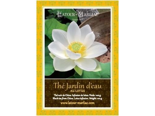 Thé noir au Lotus 'Jardin d'eau' - 100g