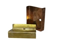 Porte savon cuivre