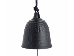 Cloche Feng Shui Furin Iwachu Noire 5,5 cm