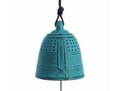 Cloche Feng Shui Furin Iwachu Turquoise 5,5 cm