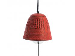Cloche Feng Shui Furin Iwachu Rouge 4,5 cm