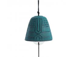 Cloche Feng Shui Furin Iwachu Verte Matte 4,5 cm