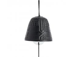 Cloche Feng Shui Furin Iwachu Noire 4,5 cm