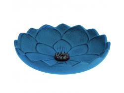 Brûle-parfums Iwachu Fleur de Lotus, Bleu