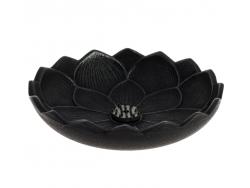 Brûle-parfums Iwachu Fleur de Lotus, Noir