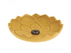 Brûle-parfums Iwachu Fleur de Lotus, Jaune