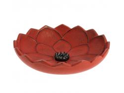 Brûle-parfums Iwachu Fleur de Lotus, Rouge