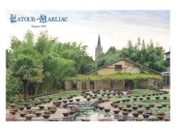 Carte postale 'Vue actuelle des anciens bassins'