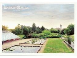Carte postale 'Vue actuelle du jardin'