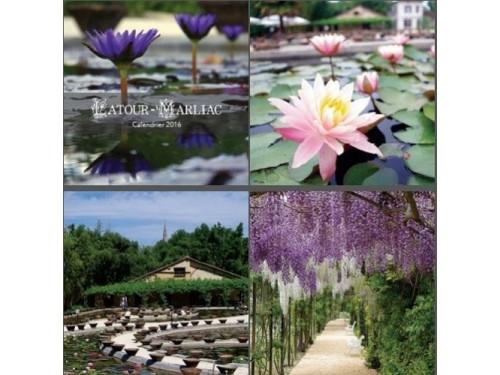 Latour-Marliac 2016 calendar