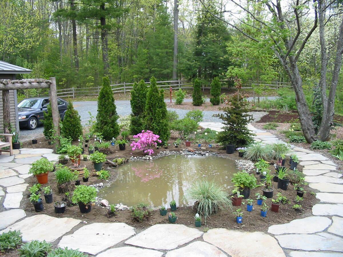 Placer les plantes où vous les souhaitez.